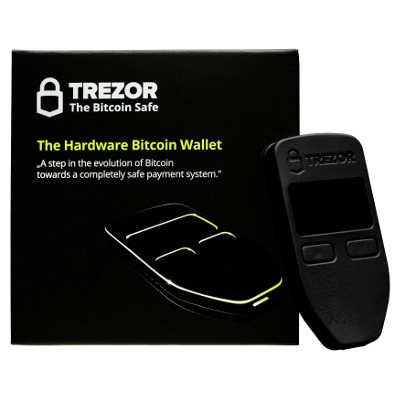 Trezor Sort hardware wallet - bitcoin wallet - ethereum wallet